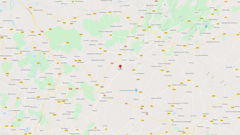 Le Grapiot, accès, carte